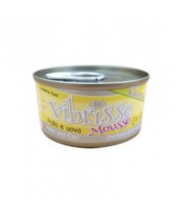Vibrisse Kitten Mousse - Poulet avec oeuf - Boîte de 70 g