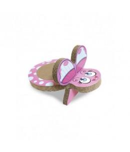 Griffoir en carton - Dora - Papillon
