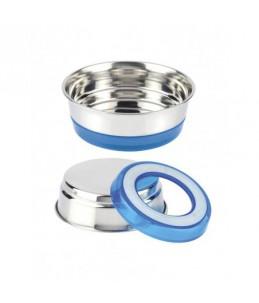 Gamelle inox - 470 ml - Fluo bleu