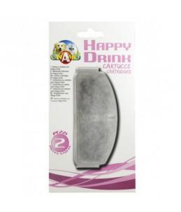 Filtres de remplacement pour fontaine Happy Drink - 2 pièces