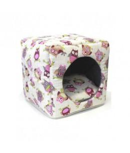 Cube Hiboux - 40 cm