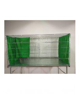Rideaux de cage d'exposition - Vert