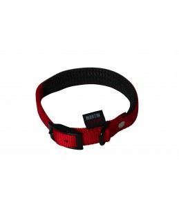 Collier droit Nylon - Rouge