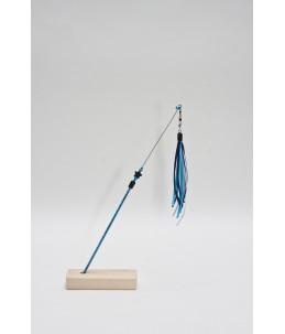 TeaZ'r Small - Blue - Ribbon : Dark Blue