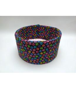 Couffin - Pattes de chats multicolore