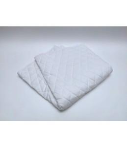 Fond de cage - blanc (double) / 140 x 70 cm